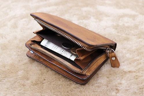 подарок на праздник мужчине, что подарить мужику, кошелёк ручной работы, агенство OvLGroup, авторские товары мастеров