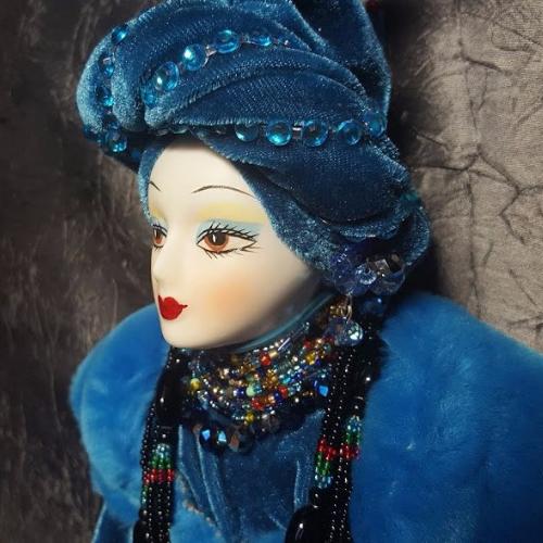 купить интерьерную куклу , найти авторскую куклу, винтажная кукла , подарок для девочки.
