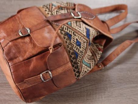 С таким рюкзаком ручной работы хочется спать в обнимку и не отпускать его из рук