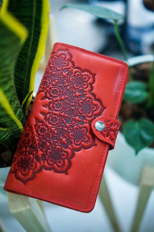 купить авторский женский кошелёк ручной работы,OvLGroup, кошелёк в подарок, кожаный кошелёк