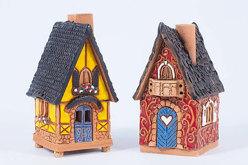 OvLGroup, домик из керамики , домик ручной работы , купить домик с благовониями , в подарок,