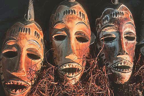 африканские маски в подарок, подарок , в отпуске