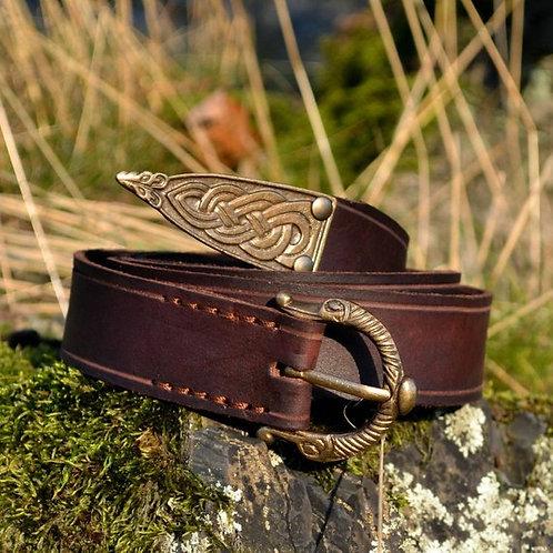ремень викингов,OvLGroup, кожаный ремень ручной работы,купить авторский ремень ,