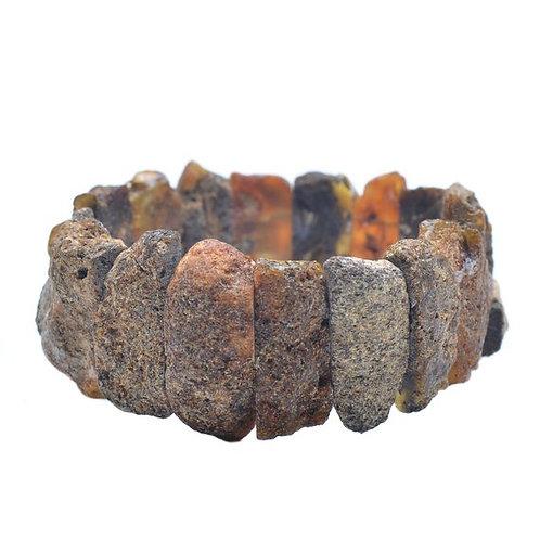 Браслет,браслет из старинного янтаря, старинный браслет, OvLGroup, браслет ручной работы,