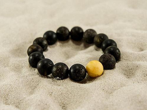 браслет мужской, купить браслет из янтаря, браслет ручной работы, янтарь, amber, литовский янтарь,OvLGroup,