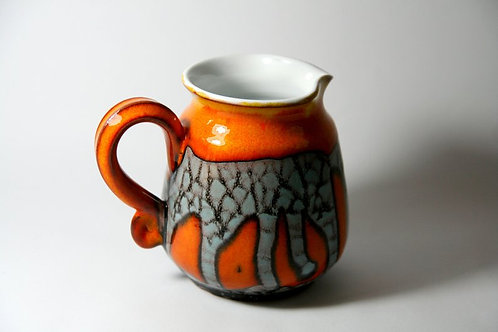 молочник керамический ручной работы, купить молочник ручной работы,авторская работы, купить керамику, агентство OvLGroup,