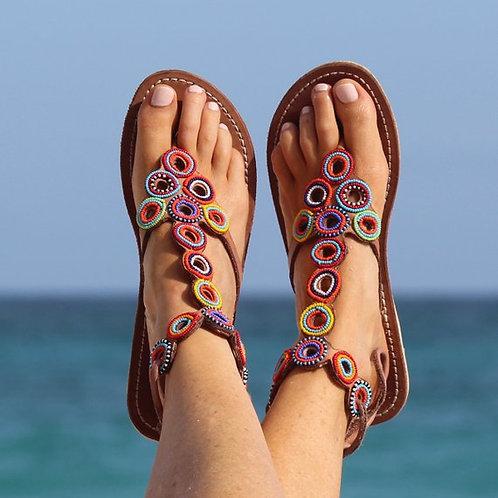 красивые сандалии,OvLGroup, купить сандалии, женские сандалии, сандалии ручной работы,