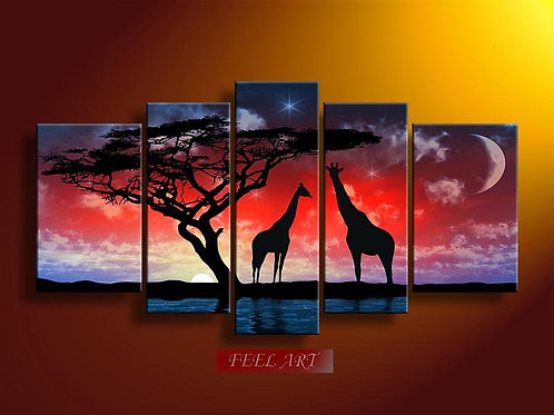 OvLGroup, модульная картина , картина маслом , купить картину,