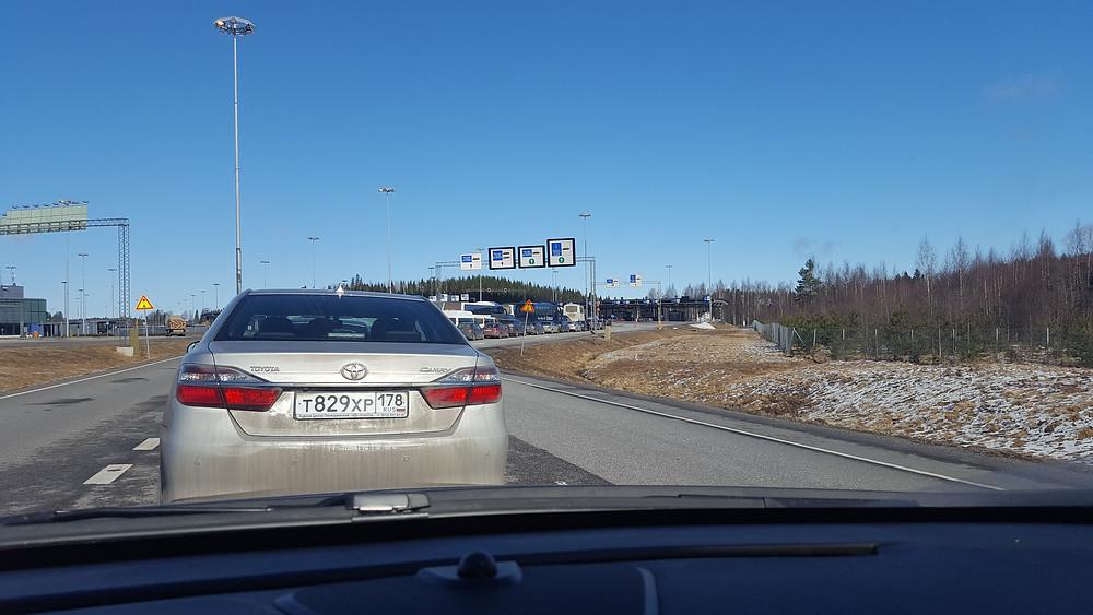 граница, OvLGroup, Финляндия,Лаппеэнранта,