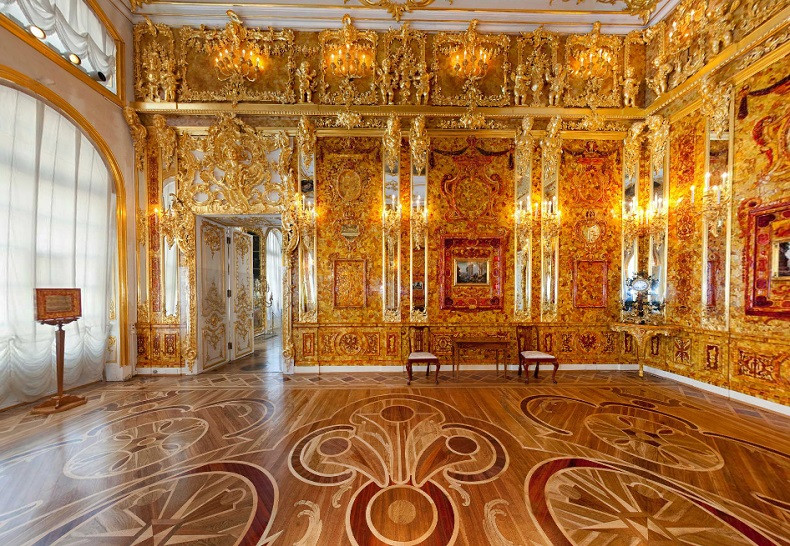 янтарная комната, янтарь, мастера, восстановление, OvLGroup,