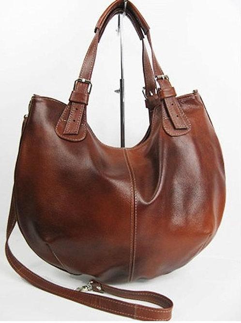 Женская сумка из кожи изготовленная вручную мастером,Ovlgroup,