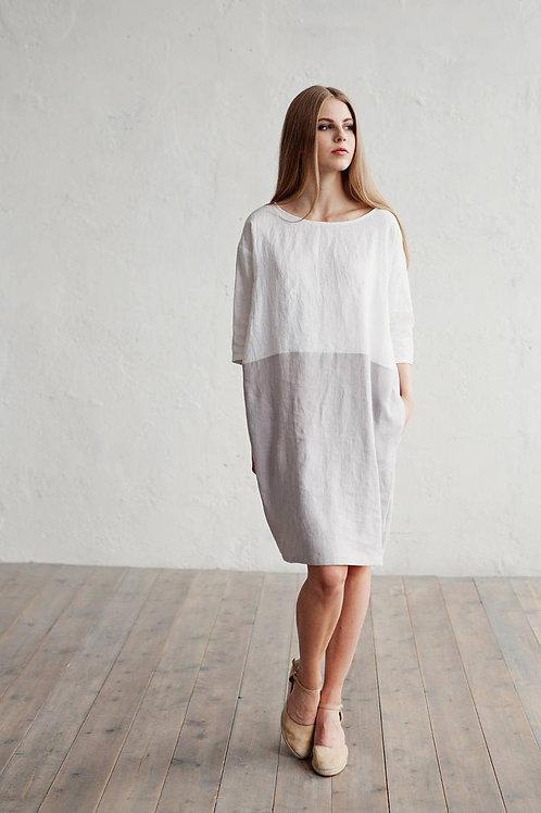 Платье летнее | Лён | Ручная работа | Литва I