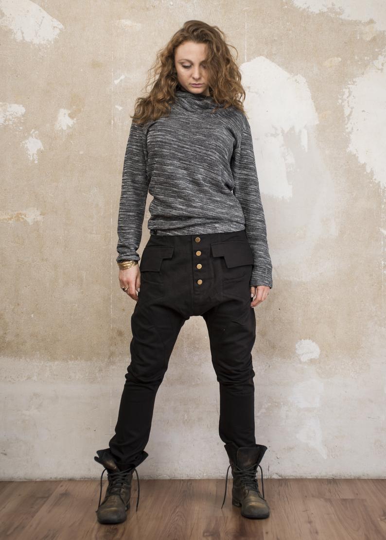 одежда ручной работы, авторская работа мастера, брюки , стильные брюки