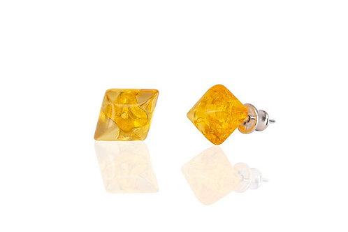 купить серьги из янтаря, украшения из янтаря, красивые серьги, подарок женщине, OvLGroup,