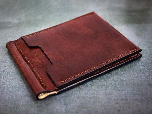 кожаный кошелёк для денег, кошелёк из натуральной кожи,OvLGroup,
