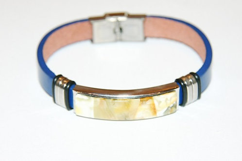 браслет ручной работы, купить стильный браслет из кожи, необычный браслет, агентство OvLGroup,