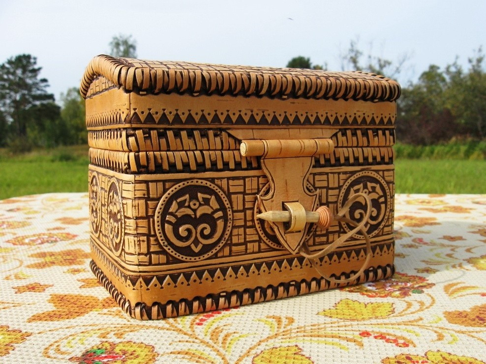 handmade, birch bark products, masters of Russia, OvLGroup,