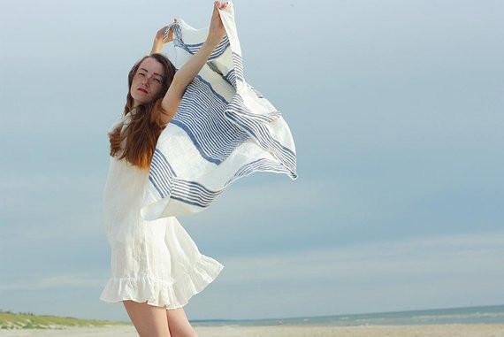 лён,полотенце из льна , купить авторские вещи из льна,OvLGroup,
