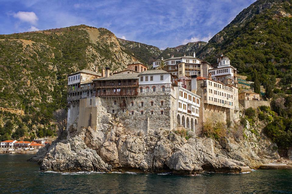 монастырь на горе Афон,Григориат,OvLGroup,