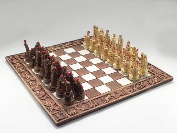 шахматы ручной работы, купить шахматы,OvLGroup,