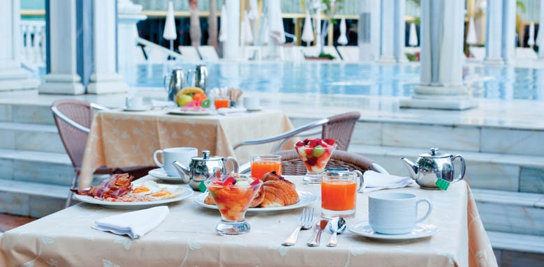 вкусный завтрак, лучшие рестораны в отелях,