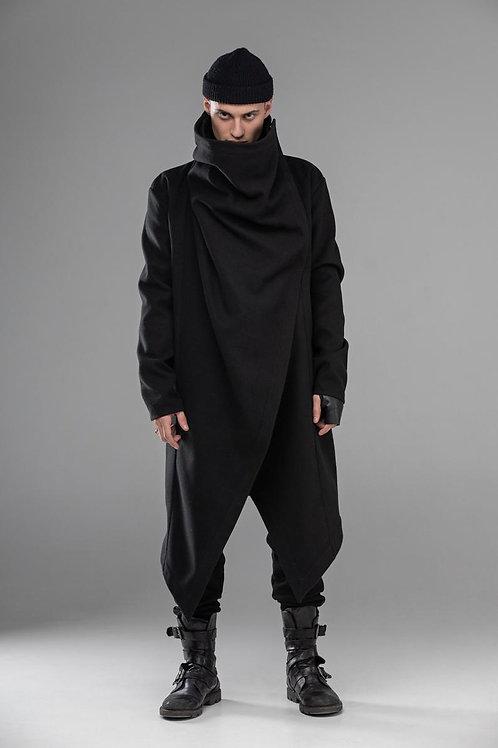 авторская коллекция одежды в стиле стимпанк, мужское пальто готика, стильное пальто, купить пальто,OvLGroup,