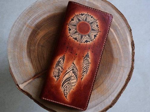 кошелёк кожаный ,кошелёк ручной работы,OvLGroup, купить кошелёк , кошелёк в подарок , ручная работа,