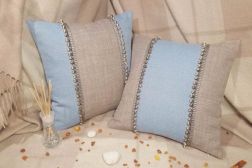 Комплект подушек декоративных, подушки декоративные, ручная работа, подушки от Надежды Карташовой, отличный подарок, сделать