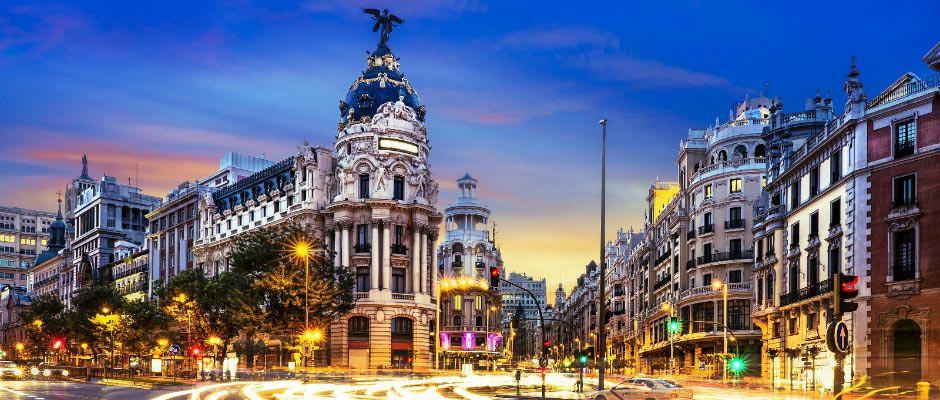 поездка в Мадрид, экскурсии по Мадриду, развлечения в Мадриде,