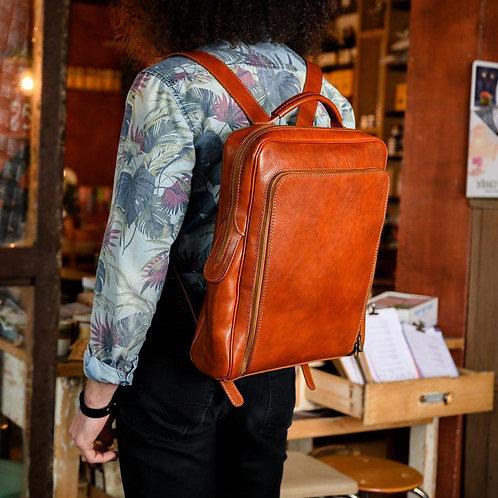 Кожаный рюкзак | Ручная работа | Италия