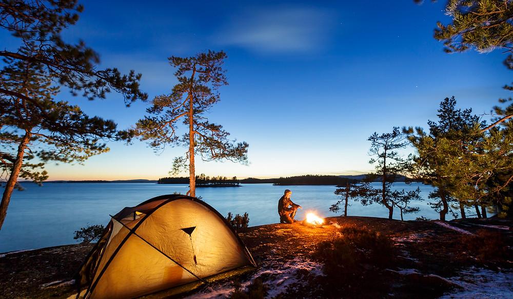 на природе в Финляндии, OvLGroup,
