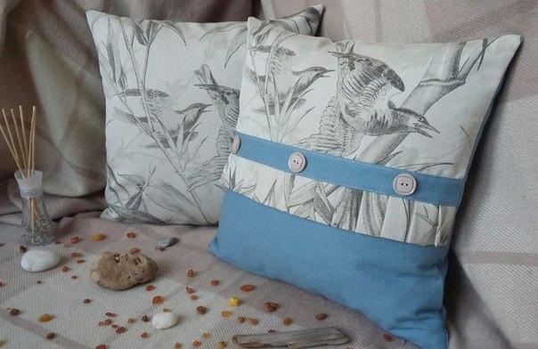 купить подушку ручной работы, авторские изделия, заказать интерьерную подушку,