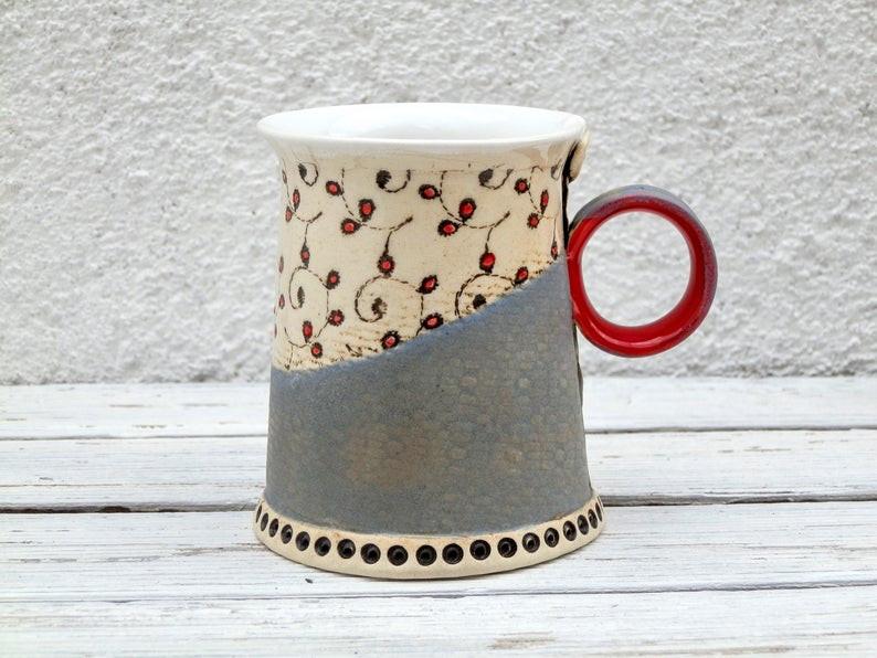 купить красивую кружку, керамическая кружка, авторская работа, кружка для чая, кружка для кофе,