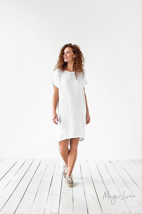 Белое летнее платье | Ручная работа | Литва