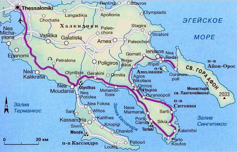 Халкидики,эгейское море,гора афон?OvLGroup,