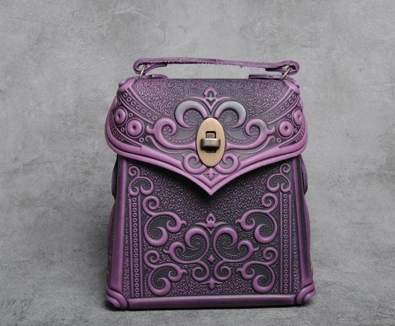 Autorentaschen, Lederrucksack, Ledertaschen, Taschen des ukrainischen Meisters, OvLGroup, handgefertigt,