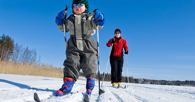 катание на лыжах в Финляндии, отдых в Финляндии,OvLGroup,
