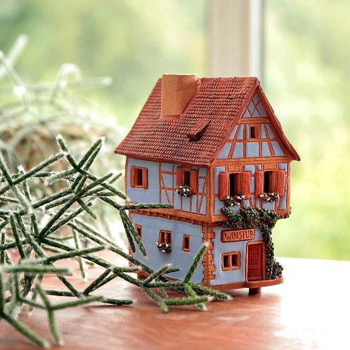 OvLGroup, купить домик керамический ручной работы, домик в подарок, лучший подарок, где найти подарок, домик со свечой,