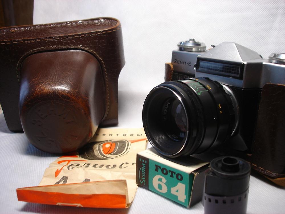 советский фотоаппарат, купить фотоаппарат плёночный,