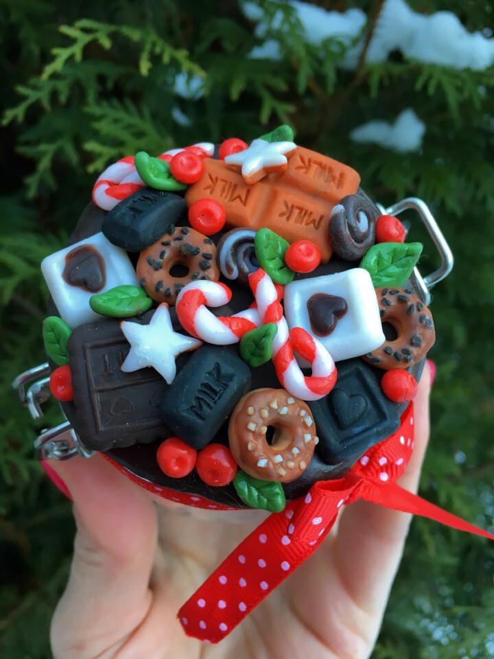 баночка со сладостями,OvLGroup, подарки к новому году,