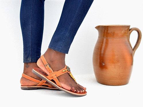 авторские кожаные сандалии, купить авторские сандалии, изготовленные вручную обувь, агентство OvLGroup,