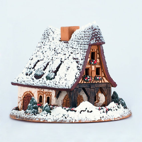 домик керамический,ручная работа, подарок,купить подарок,
