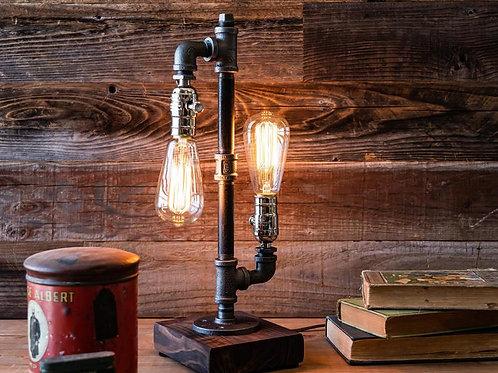 Лампа в стиле стимпанк   Ручная работа   США