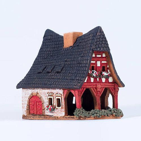 ручная работа,подарок ручной работы, домик из глины,