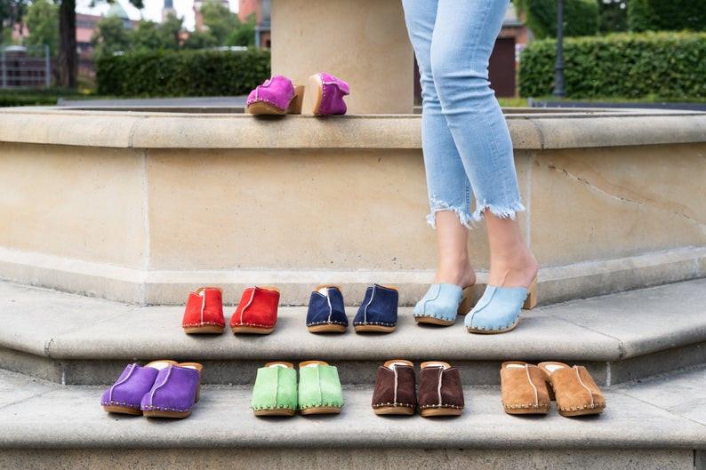 где купить сабо ручной работы, OvLGroup, стильная обувь купить,