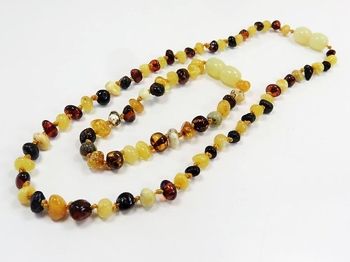 Ожерелье и браслет из янтаря | Ручная работа | Литва