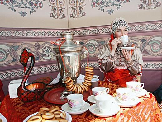 русские традиции, чай, чаепитие в России