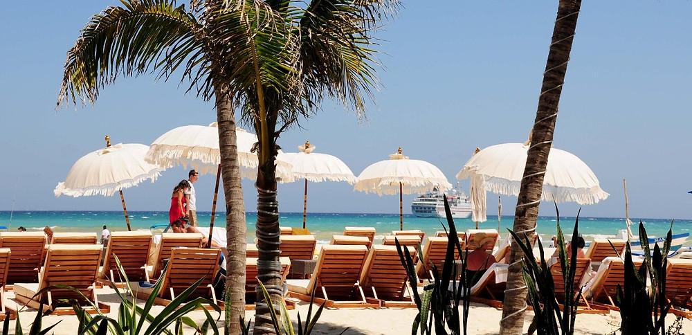Пляж в Мексике,отдых,OvLGroup,
