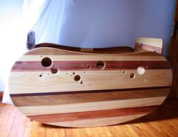 Le Bean's bed