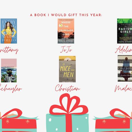 Gift Guide- A Book I Would Gift!
